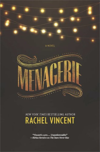 Menagerie by Rachel Vincent | books, reading, book covers