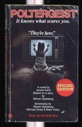Poltergeist by James Kahn | books, reading, book covers