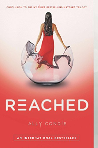 Reached by Ally Condie | books, reading, book covers, cover love, snow globes