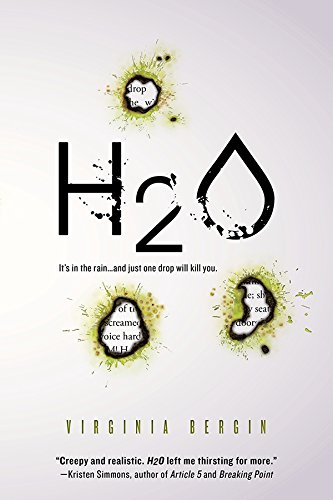 H2O by Virginia Bergin   books, reading, book covers