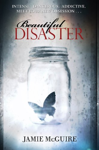 Beautiful Disaster by Jamie McGuire | books, reading, book covers, cover love, butterflies