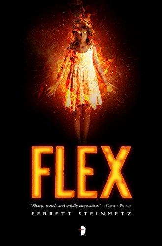 Flex by Ferrett Steinmetz | books, reading, book covers