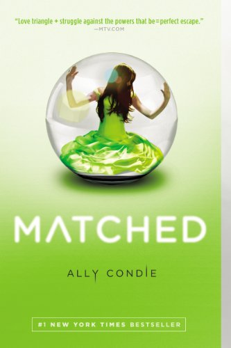 Matched by Ally Condie | books, reading, book covers, cover love, snow globes