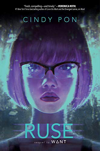 Ruse by Cindy Pon   reading, books, book covers, cover love, faces