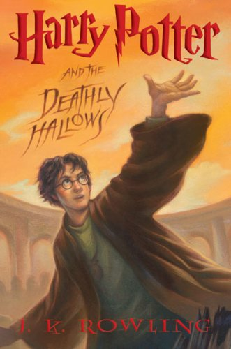 Harry Potter and the Deathly Hallows by J.K. Rowling | reading, books, book cover, cover love