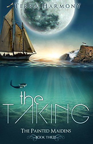 The Taking by Terra Harmony | books, reading, book covers, cover love, the moon