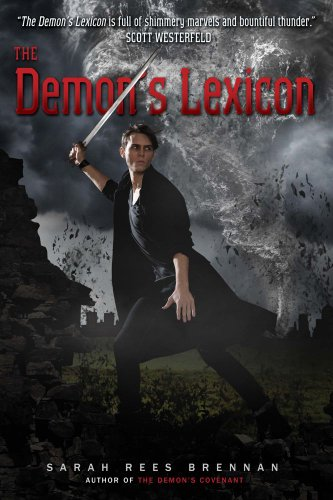 Book Cover - The Demon's Lexicon by Sarah Rees Brennan