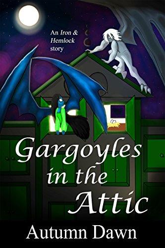 Gargoyles in the Attic by Autumn Dawn | books, reading, book covers, cover love, gargoyles