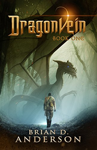 Dragonvein Book 1 by Brian D. Anderson   books, reading, book covers, cover love, dragons