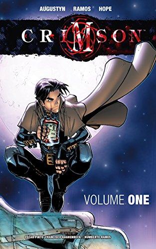 Crimson Vol. 1 by Brian Augustyn & Humberto Ramos   books, reading, book covers