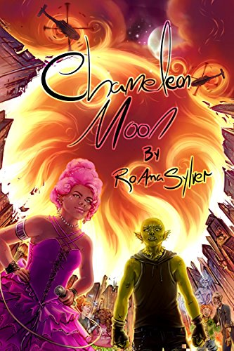 Book Cover - Chameleon Moon by RoAnna Sylver
