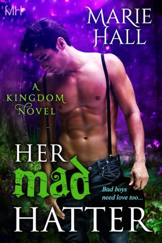 Book Cover - Her Mad Hatter by Marie Hall