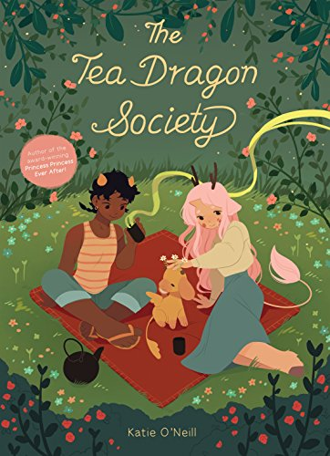 Book Cover - The Tea Dragon Society by Katie O'Neill