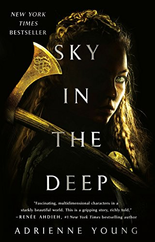 Sky in the Deep by Adrienne Young | reading, books, book covers, cover love, yellow