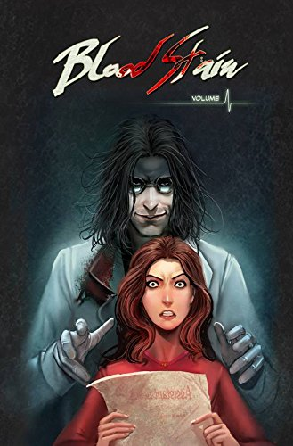 Blood Stain Vol. 1 by Linda Sejic   books, reading, book covers
