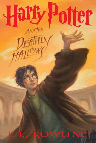 Harry Potter and the Deathly Hallows by J.K. Rowling | books, reading, book covers