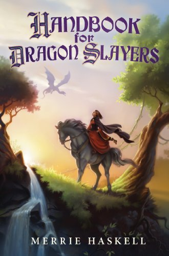 Book Cover - Handbook for Dragon Slayers by Merrie Haskell