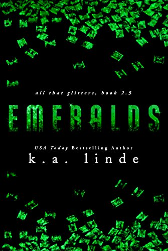 Emeralds by K.A. Linde   books, reading, book covers, cover love, jewels