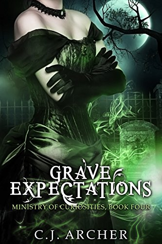 Grave Expectations by C.J. Archer | reading, books, book covers, cover love, fashion