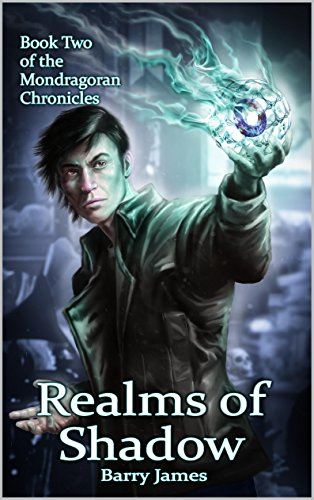 Realms of Shadow by Barry James | reading, books, book covers, cover love, skulls