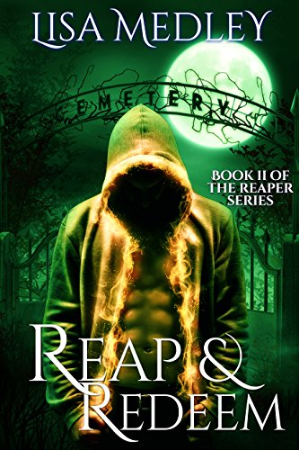 Reap and Redeem by Lisa Medley | books, reading, book covers, cover love, the moon