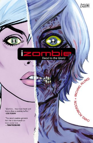 iZombie Vol. 1: Dead to the World by Chris Roberson & Michael Allred | books, reading, book covers