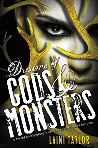 Dreams of Gods & Monsters by Laini Taylor | reading, books, book covers, cover love, yellow