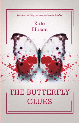 The Butterfly Clues by Kate Ellison | books, reading, book covers, cover love, butterflies