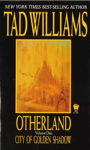 Book Cover - City of Golden Shadow by Tad Williams