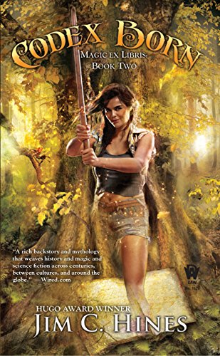 Codex Born by Jim C. Hines   books, reading, book covers, cover love