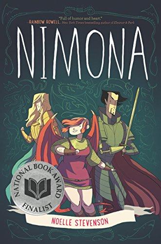Book Cover - Nimona by Noelle Stevenson