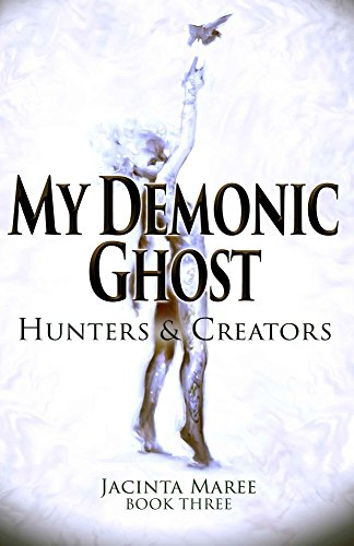 Hunters & Creators by Jacinta Maree | reading, books, book covers, cover love, ghosts