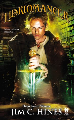 Libriomancer by Jim C. Hines | books, reading, book covers