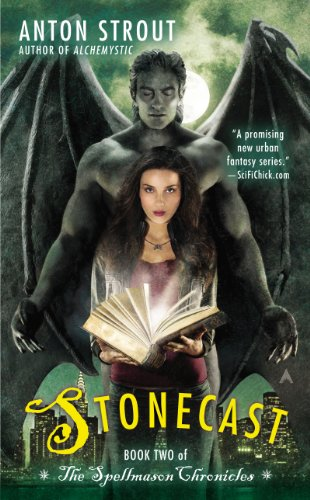 Stonecast by Anton Strout | books, reading, book covers