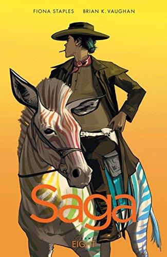 Saga Vol. 8 by Brian K. Vaughan & Fiona Staples