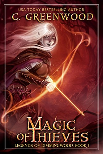 Magic of Thieves by C. Greenwood | books, reading, book covers, cover love, arrows