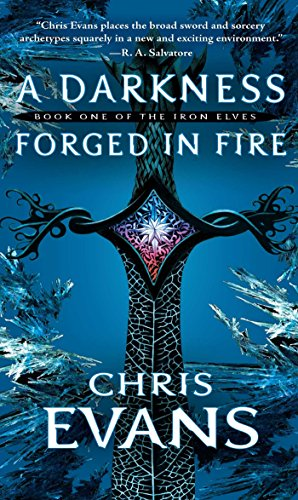 Book Cover - A Darkness Forged in Fire by Chris Evans