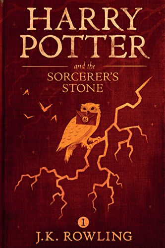 Harry Potter and the Sorcerer's Stone by J.K. Rowling | books, reading, book covers