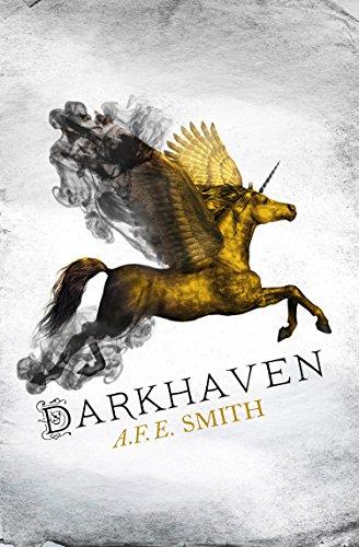 Darkhaven by A.F.E. Smith | reading, books, book covers, cover love, yellow