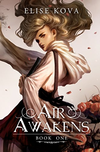 Air Awakens by Elise Kova | reading, books, book covers, cover love, hair