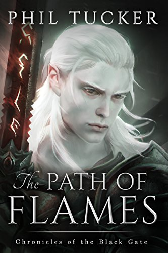 The Path of Flames by Phil Tucker | reading, books, book covers, cover love, hair