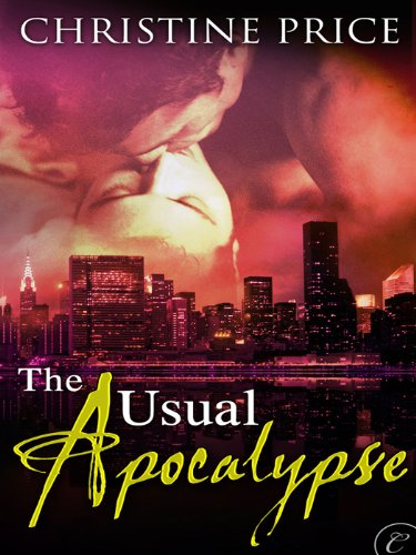 The Usual Apocalypse by Christine Price   books, reading, book covers