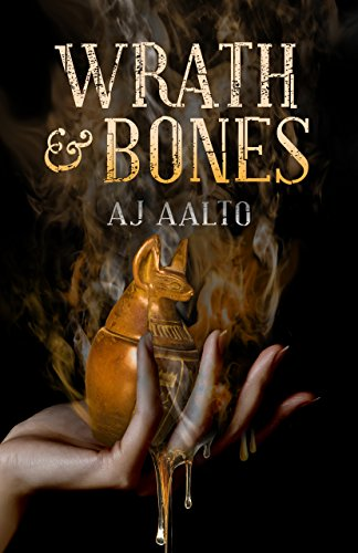 Wrath & Bones by A.J. Aalto   books, reading, book covers, cover love, hands
