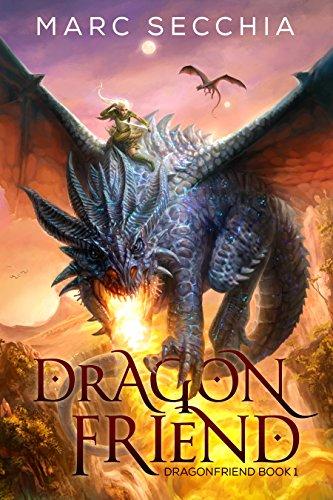 Dragon Friend by Marc Secchia   books, reading, book covers, cover love, dragons
