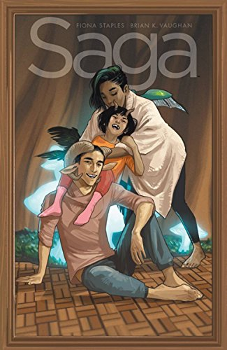 Saga Vol. 9 by Brian K. Vaughan & Fiona Staples
