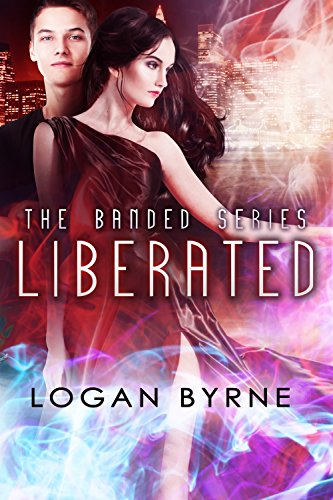 Liberated by Logan Byrne | books, reading, book covers, cover love, skylines