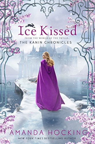 Ice Kissed by Amanda Hocking   reading, books, books covers, cover love, snow