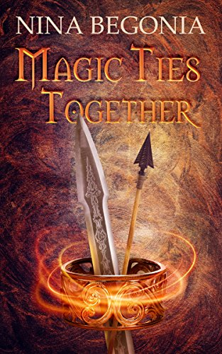 Book Cover - Magic Ties Together by Nina Begonia