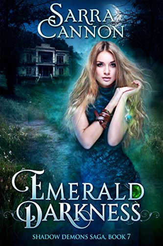 Emerald Darkness by Sarra Cannon   reading, books, book covers, cover love, haunted houses