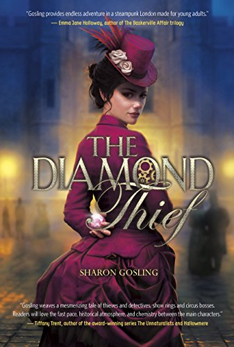 The Diamond Thief by Sharon Gosling   books, reading, book covers, cover love